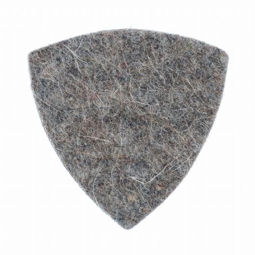 Felt Tones Gypsy Grey Wool Felt 1 Guitar Pick